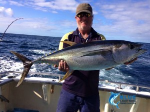 Yellowfin Tuna Montebello Islands WA fishing Charter