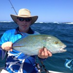 Blue Fin Trevally Sport Fishing Charter WA