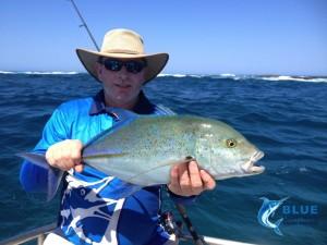 Blue Fin Trevally Sport Fishing Charter WA