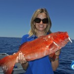 Blue Lightning's own Leah with a nice Red Emperor she caught off WA