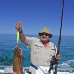 Coral Trout Sport fishing WA