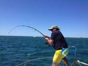 WA fishing charter Rod