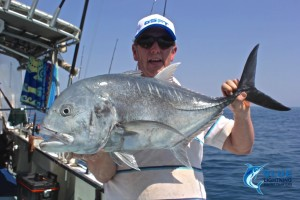 GT popping fishing charter