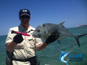 Giant Trevally Popping