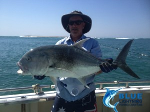 Fishing Western Australia GT popping