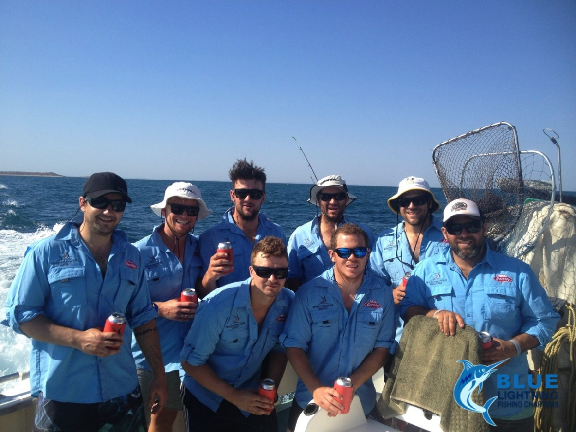 Fun wa fishing trip with the kalgoorlie lads montebello for Fish and trip