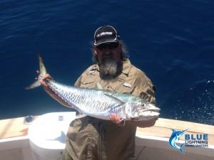 Dampier fishing charter Reely-Black