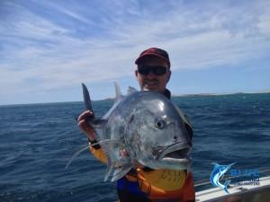 GT Montebello Islands fishing charter