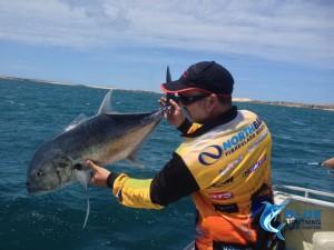 GT release fishing charter