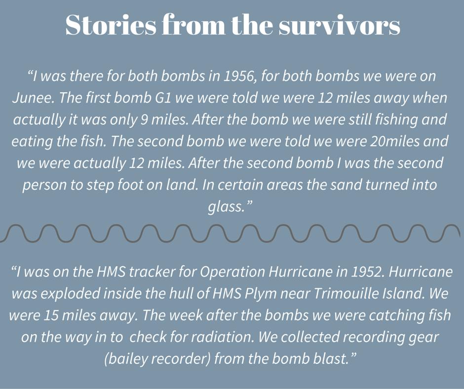 60th Anniversary Nuclear Testing Montebello Islands