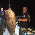 Bar cod Montebello Islands WA fishing