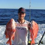 Jason red emperor Montebello Islands WA fishing