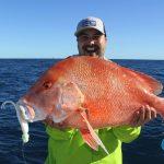 Massive Red Emperor Soft Plastic WA fishing charter