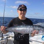 Rodney spanish mackerel Montebello Islands Fishing Charter
