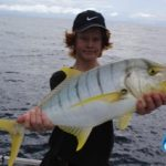 Tim golden trevally Montebello Islands WA fishing