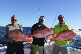 Red emperors wa fishing charter blue lightning fishing for Fishing charters washington state