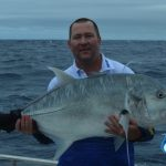 Andrew GT Giant Trevally WA fishing Charter Blue Lightning Charters