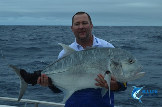 Andrew gt giant trevally wa fishing charter blue lightning for Wa fishing charters