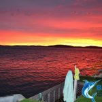 WA Sunrise ocean seascape Blue Lightning Charters
