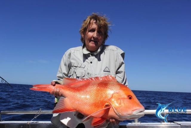 Red emperor wa fishing charter blue lightning charters for Wa fishing charters