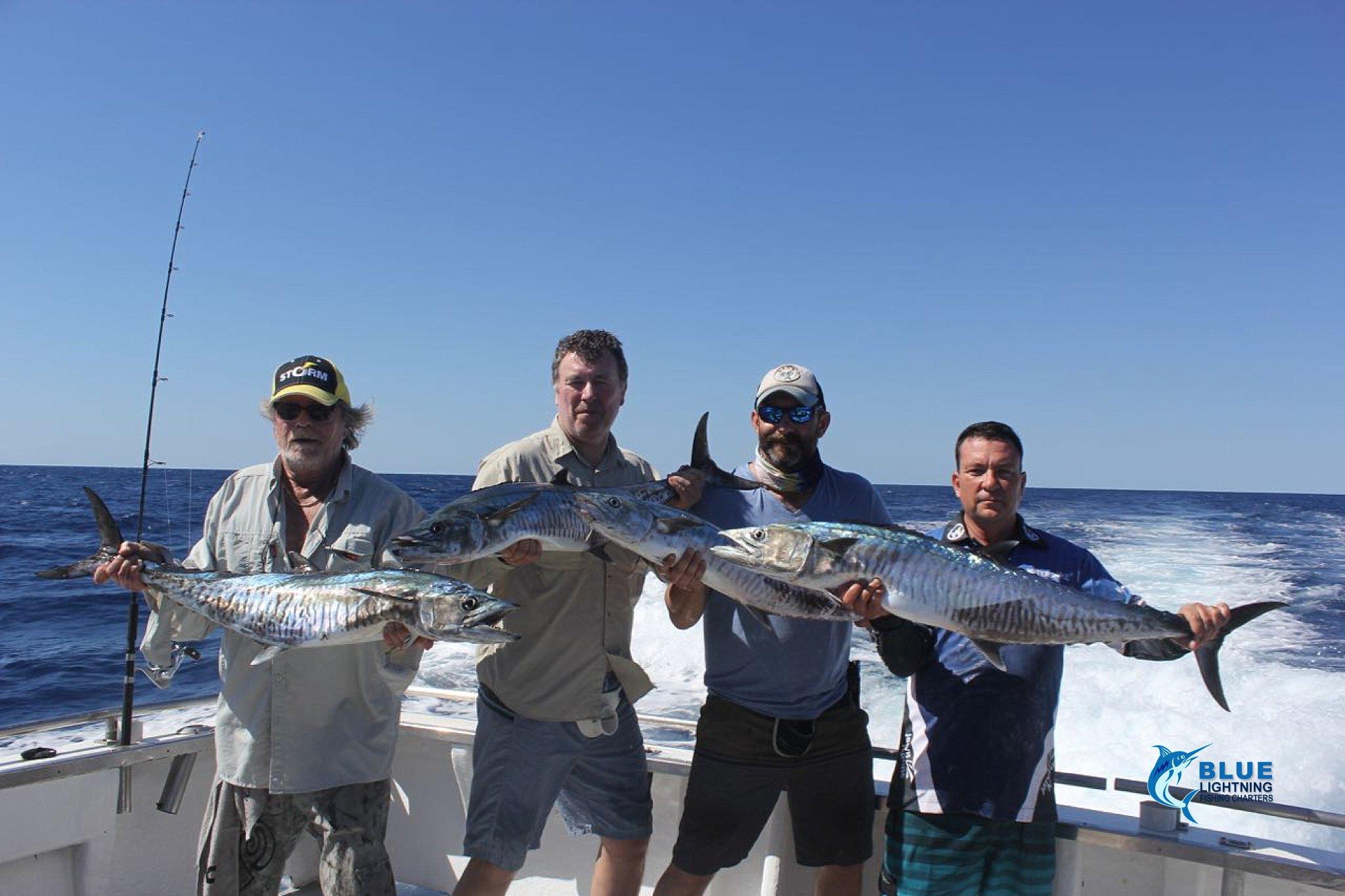 Blue lightning fishing charters wa blue lightning for Wa fishing charters