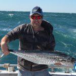 Jason spanish mackerel Montebello Islands WA fishing charter