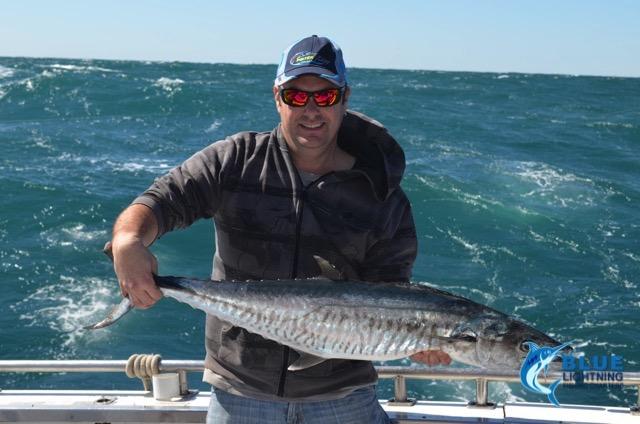 Jason spanish mackerel montebello islands wa fishing for Washington fishing charters