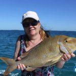 Montebello Islands WA fishing charter Spangled Emperor
