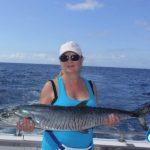 Montebello Islands WA fishing charter panish Mackerel