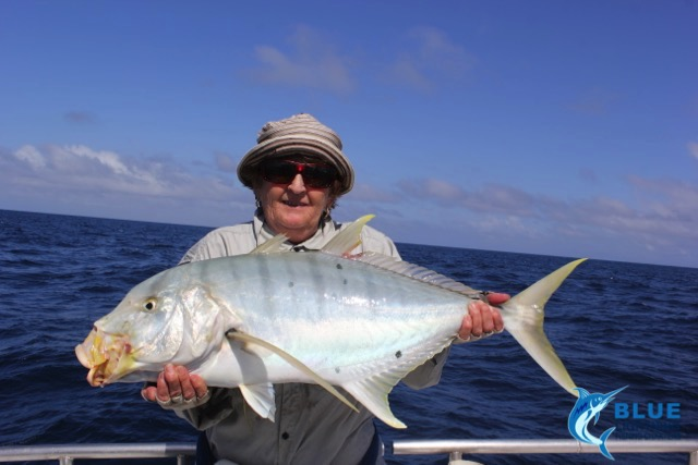 Lucy golden trevally montebello islands wa fishing charter for Wa fishing charters