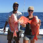 Red Emperor Western Australia Fishing Charter Blue Lightning
