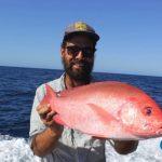 Western Australia Fishing Charter Blue Lightning Crimson Sea Perch
