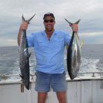 Matt Mackerel, yellow fin tuna Wa best fishing Montebello Islands