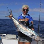 Spanish Mackerel Western Australia Fishing Charter Blue Lightning