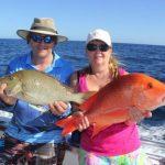 Western Australia Fishing Charter Blue Lightning Red Emperor Spangled Emperor