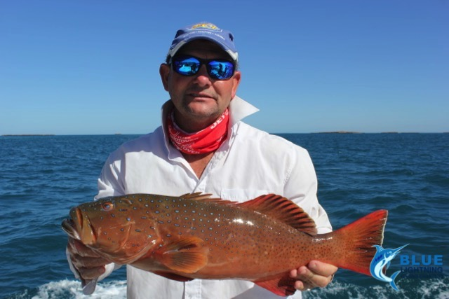 Montebello islands wa fishing charter coral trout blue for Fishing charters washington state