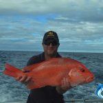 Sam red emperor Montebello Islands WA best fishing charters