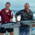 Stuart and Jason long fin tuna
