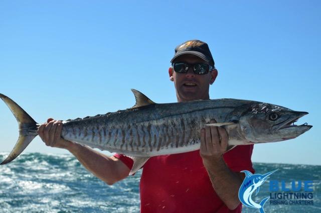 Stuart spanish mackerel wa fishing charter blue for Wa fishing charters