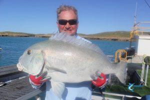Sweet Lip Emperor Montebello Islands WA Fishing Charter