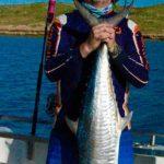 Spanish Mackerel land based fishing Montebello Islands WA Blue Lightning Charters