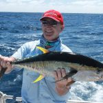 Yellow fin Tuna Montebello Islands WA fishing charter Blue Lightning Charters