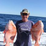 Red Emperor Montebello Islands WA fishing charter Blue Lightning Charters
