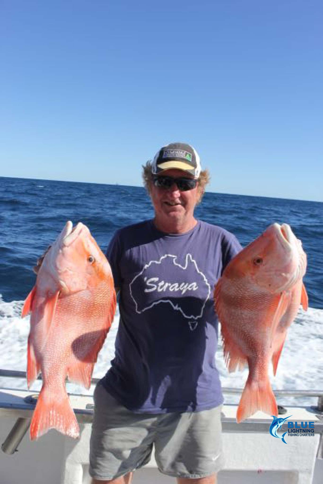 Glen s red emperor montebello islands wa fishing charter for Wa fishing charters