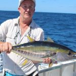 Yellow fin tuna Montebello Islands Blue Lightning Charters