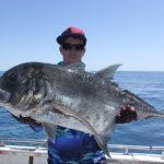 GT Popping WA fishing Charter