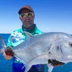 GT Montebello Islands WA fishing charter