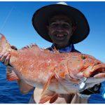 Coral Trout Blue Lightning Charters WA fishing charter