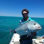 Giant Trevally GT Montebello Islands WA fishing