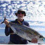 Yellow fin tuna Blue Lightning Charters WA fishing charter